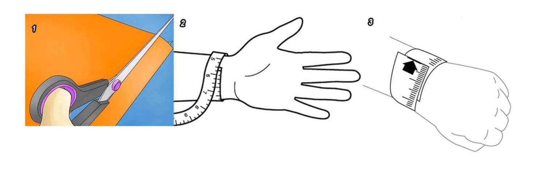 Cách đo size tay