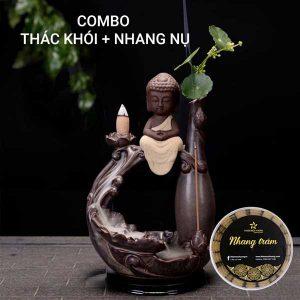 Thác Khói Trầm Hương và Nhang Nụ Trầm Hương