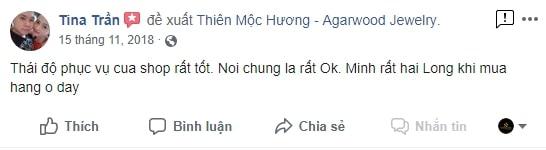 Feedback Vòng Tay Trầm Hương