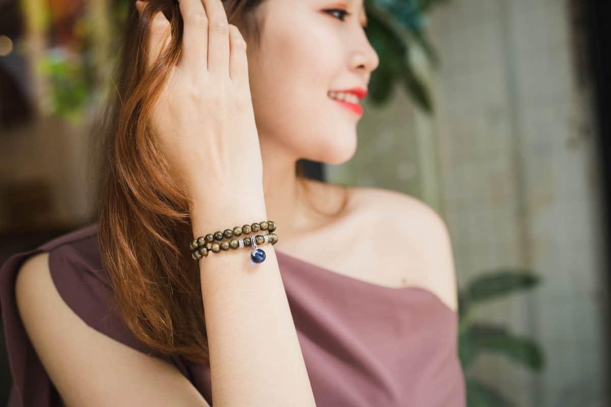 Vòng tay Trầm hương Thuỷ Quang Minh