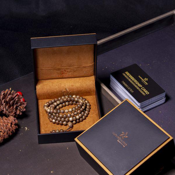 Bộ sản phẩm vòng tay trầm hương 108 hạt