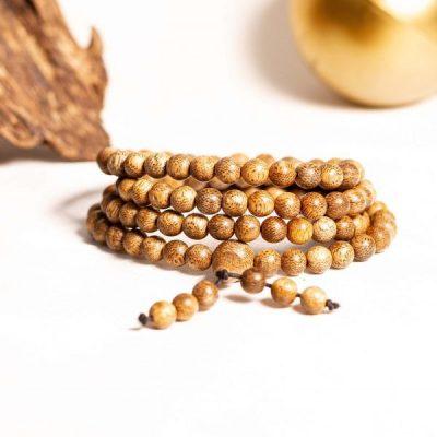 Vòng tay trầm hương 108 hạt
