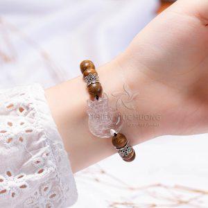 Vòng tay trầm hương thiên mộc hương-29 (2)