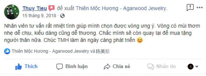 Khách hàng nói về Thiên Mộc Hương