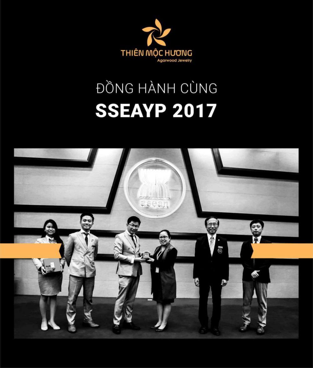 Thiên Mộc Hương đồng hành cùng SSEAYP 2017-2018 - Thương hiệu được lựa chọn làm quà tặng cho Hoàng Gia Nhật và nguyên thủ Quốc Gia Đông Nam Á