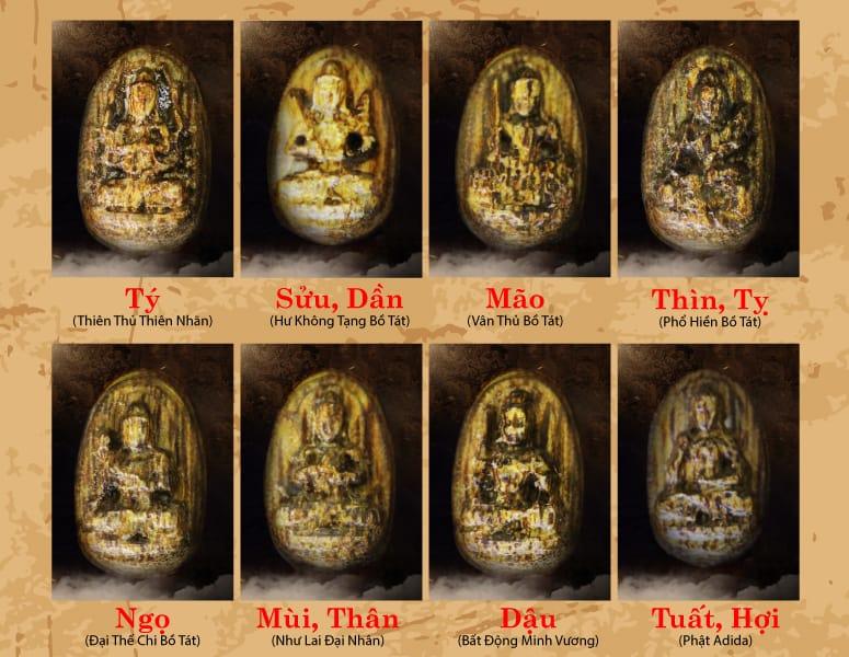 Mặt dây chuyền Phật Bản Mệnh