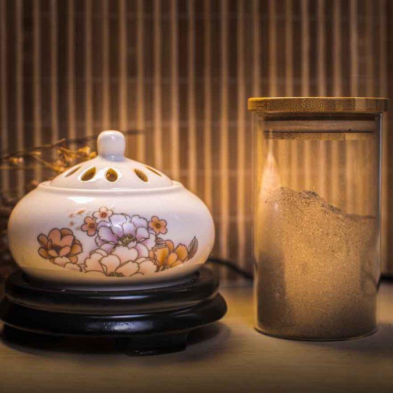 Lư điện xông trầm hương Thiên Mộc Hương