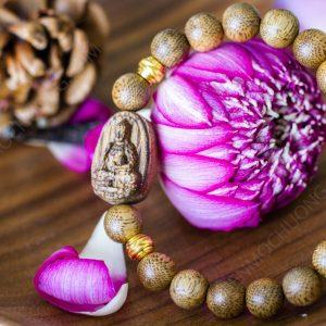 Vòng tay Trầm Hương Phật Bản Mệnh