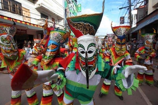 Lễ hội ma xó ở Thái Lan