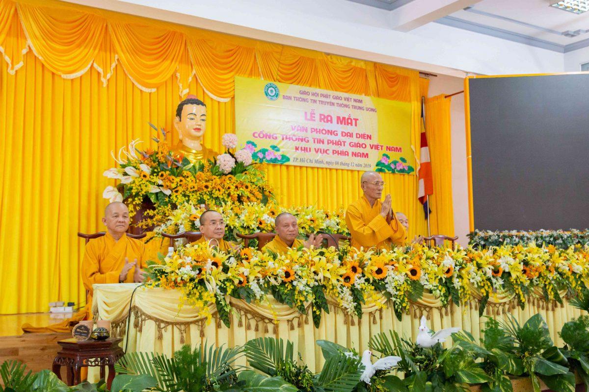lễ ra mắt Văn Phòng đại diện Cổng thông tin Phật giáo