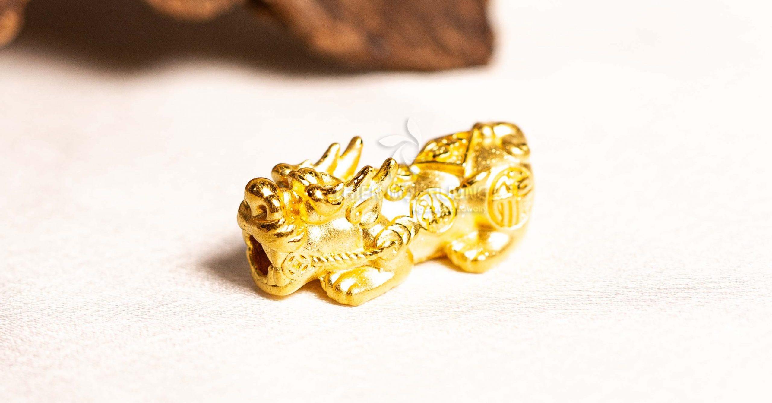 Charm Tỳ Hưu Vàng - Mua vàng vía Thần tài