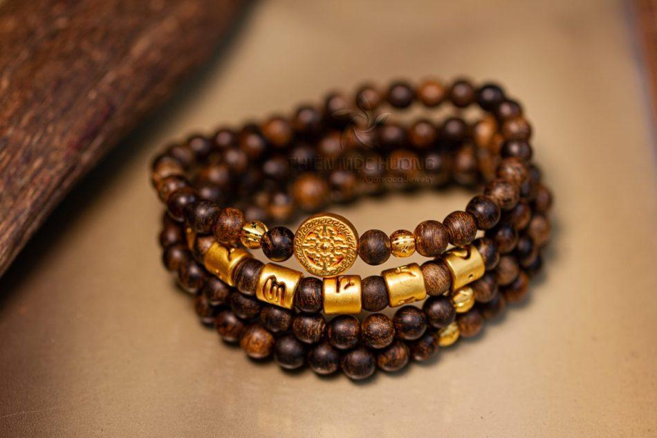 Vòng tay Trầm Chìm Phật Pháp Nhiệm Màu