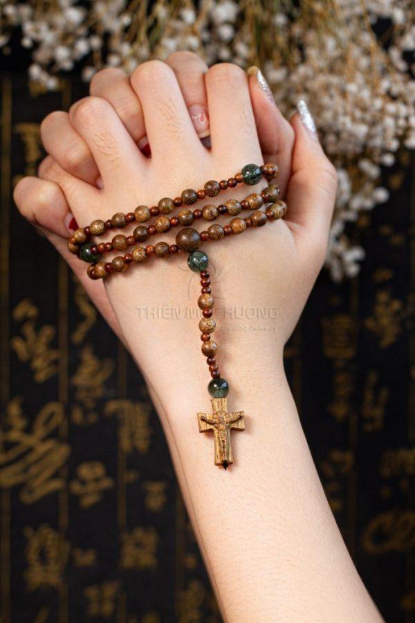 Vòng tay trầm hương thiên mộc hương