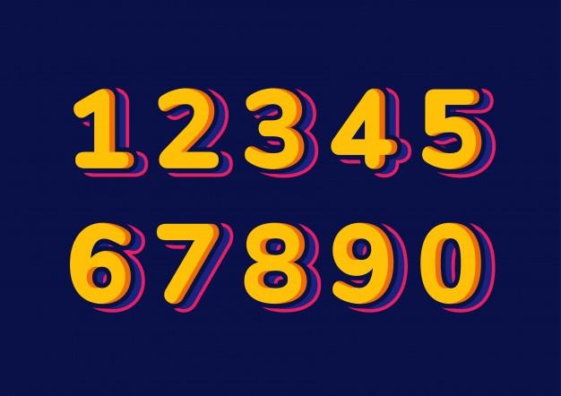 Số may mắn của bạn là số mấy?