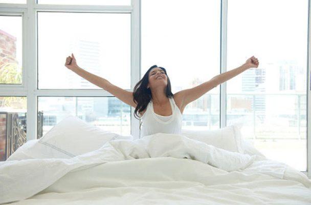 Tâm trạng thoải mái báo hiệu một ngày của bạn tràn đầy sinh khí, may mắn