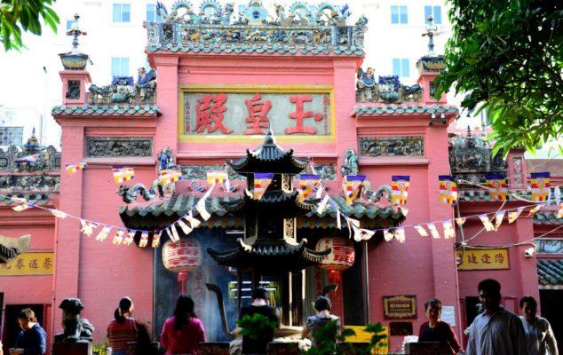 Chùa Ngọc Hoàng, chùa cầu duyên ở sài gòn