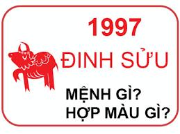 Sinh năm 1997 mệnh gì?