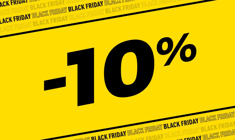 Các mức sale black friday giảm giá sốc không dừng lại ở 10%