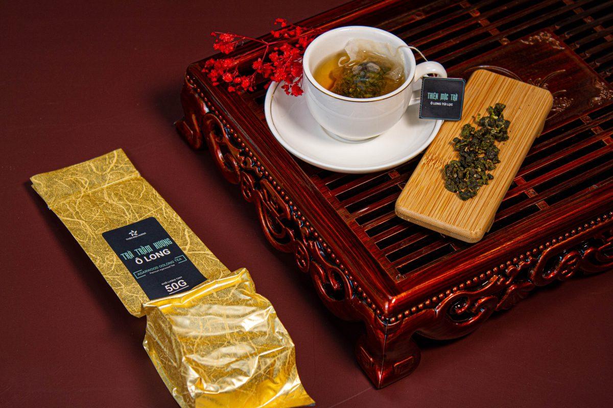 trà trầm hương Thiên Mộc Trà