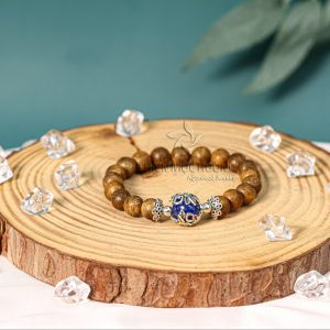 Vòng tay trầm hương Ngọc Châu Kim Đài