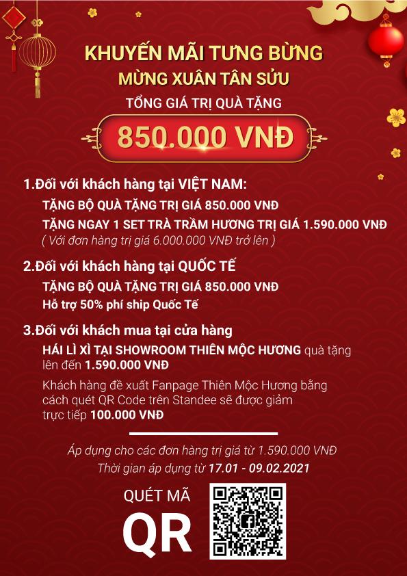 LÌ XÌ NGAY QUÀ TẶNG 850.000 VNĐ