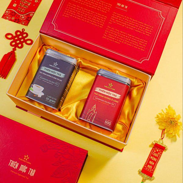Quà tặng khách hàng VIP - Trà trầm hương