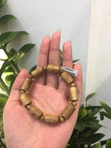 Vòng Tay gỗ Trầm Hương Trụ Trúc Đơn Lào - Nữ photo review
