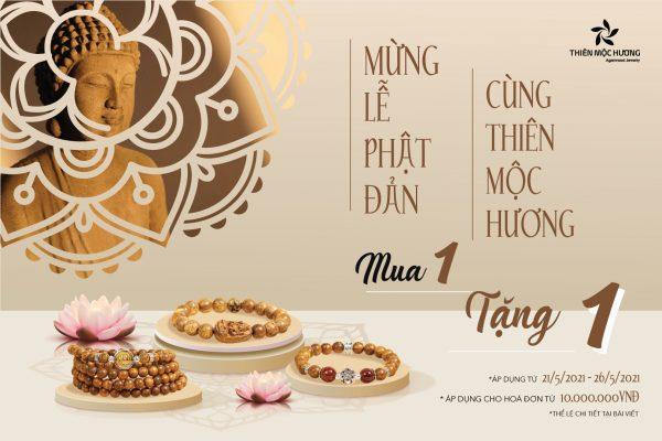 Mừng Lễ Phật Đản với quà tặng hấp dẫn từ Thiên Mộc Hương