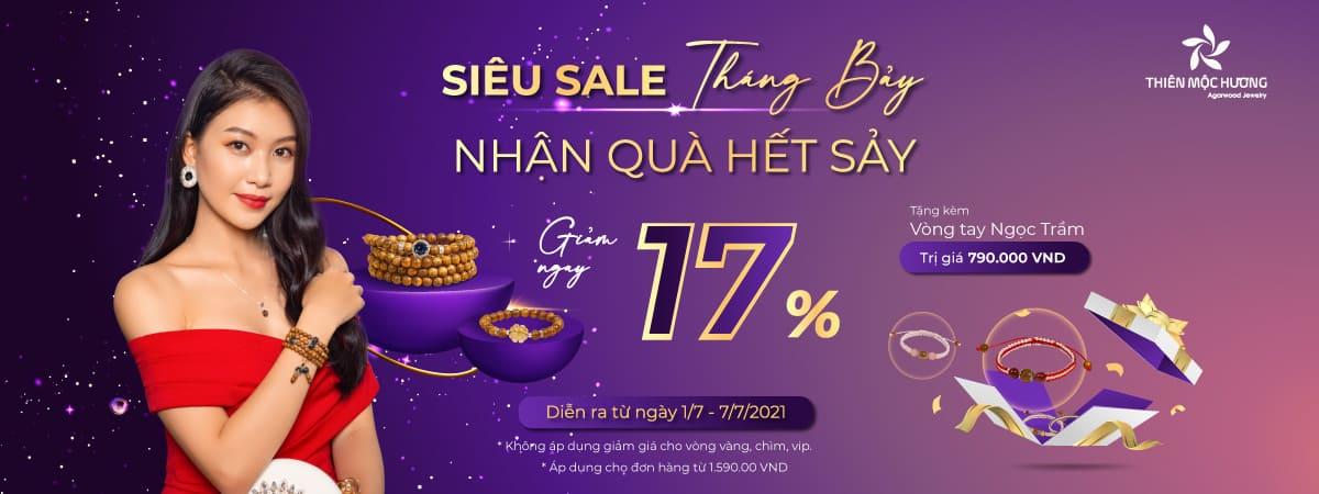 Giảm giá 17% - Tặng kèm Vòng tay trầm hương may mắn
